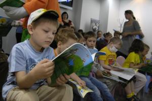 Фото к Полный аншлаг в Информационных центрах в День знаний