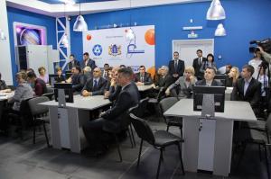 Фото к Состоялось торжественное открытие Информационного центра атомной отрасли