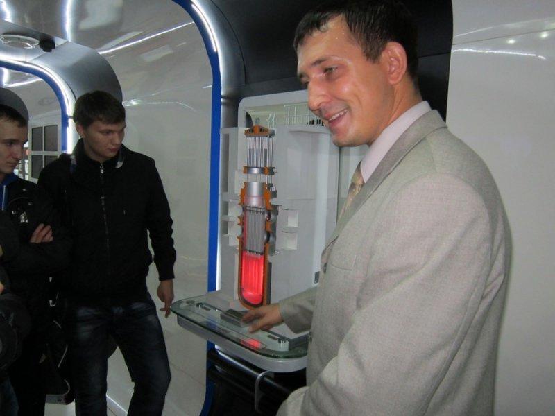 Фото к Поезд инноваций прибыл в Ростов-на-Дону