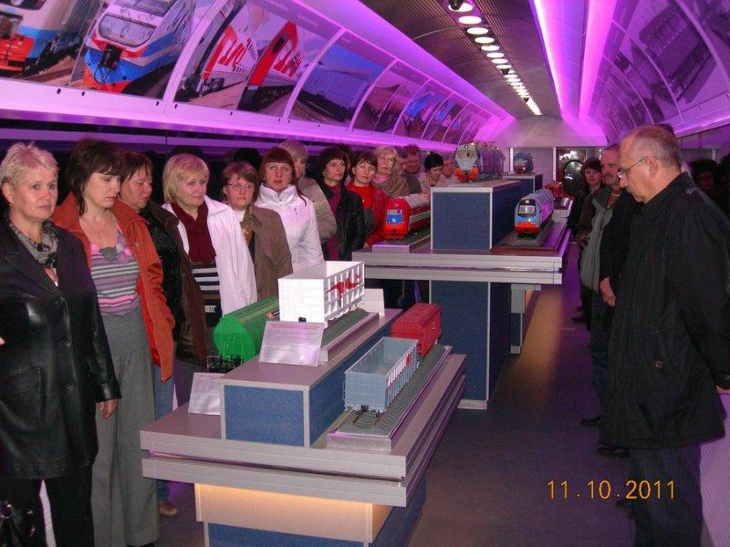 Фото к 10 октября ПВЛК прибыл на станцию Лиски