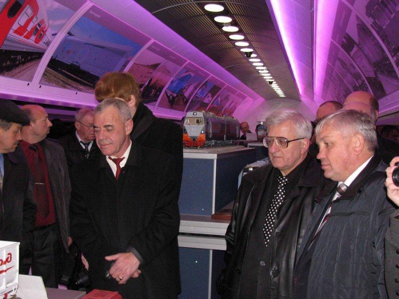 Фото к Поезд инноваций сделал остановку в Брянске