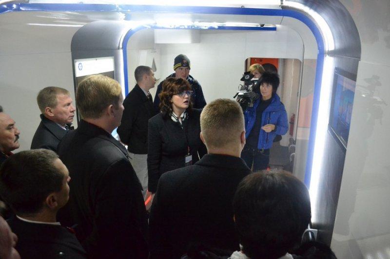 Фото к 16 октября Смоленск встречал Поезд инноваций.