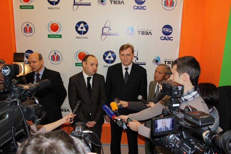 Фото к Открыт Информационный центр в Смоленске