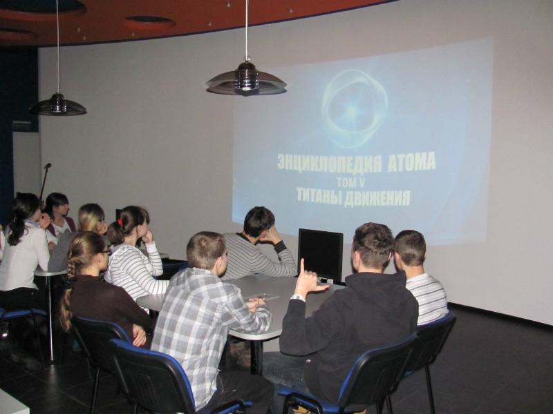 Фото к Капитан открыл сезон встреч петербургских школьников с интересными людьми