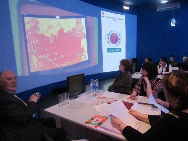 Фото к В Смоленске прошла презентация годового отчёта Информационного центра