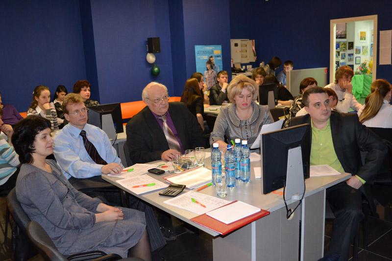 Фото к Финал регионального этапа Всероссийского конкурса «Атомная наука и техника-2012»