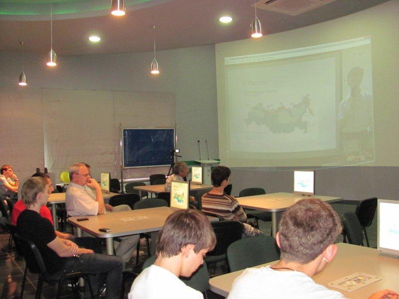 Фото к Видеомост для старшеклассников, посвящённый 20-летию концерна «Росэнергоатом»