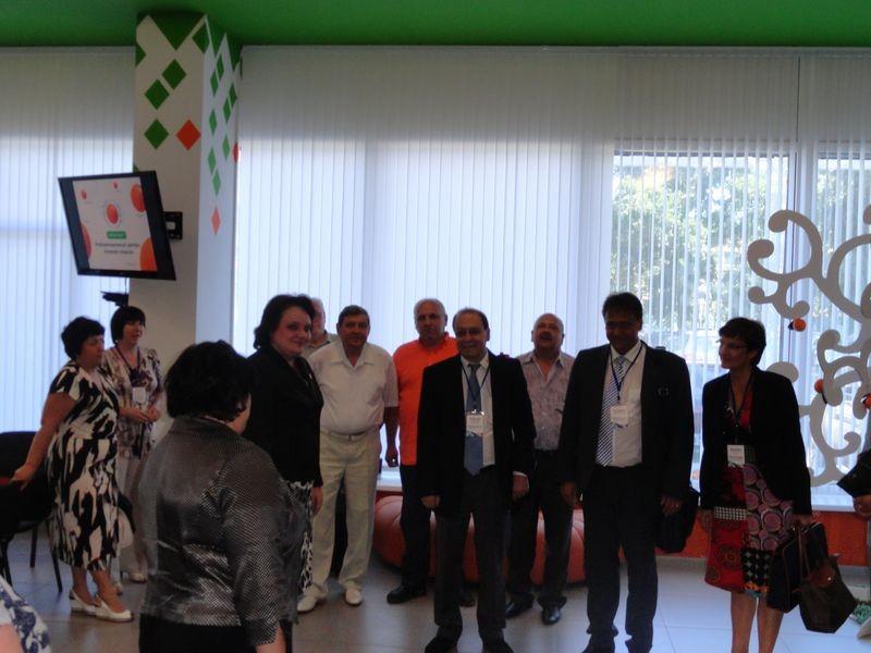 Фото к Делегация ремесленной палаты Германии в Информационном центре по атомной энергии