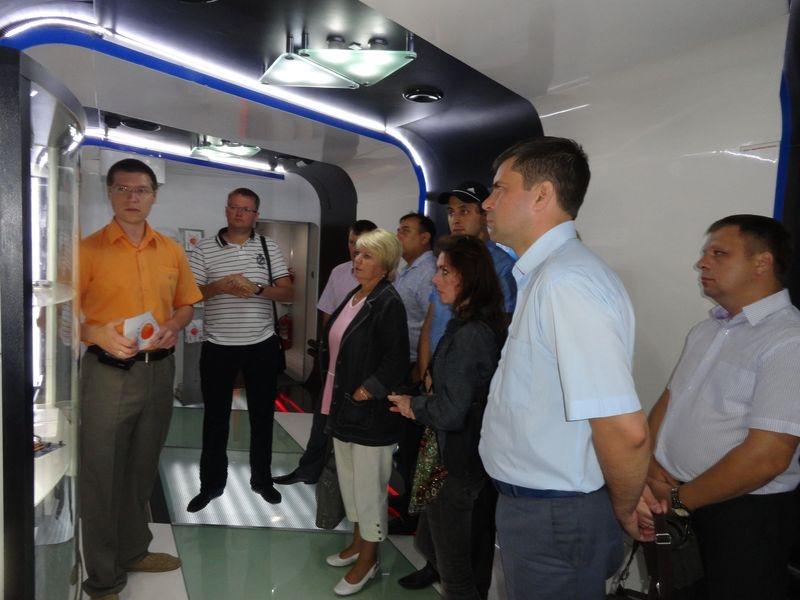 Фото к Поезд инноваций снова в Ульяновске