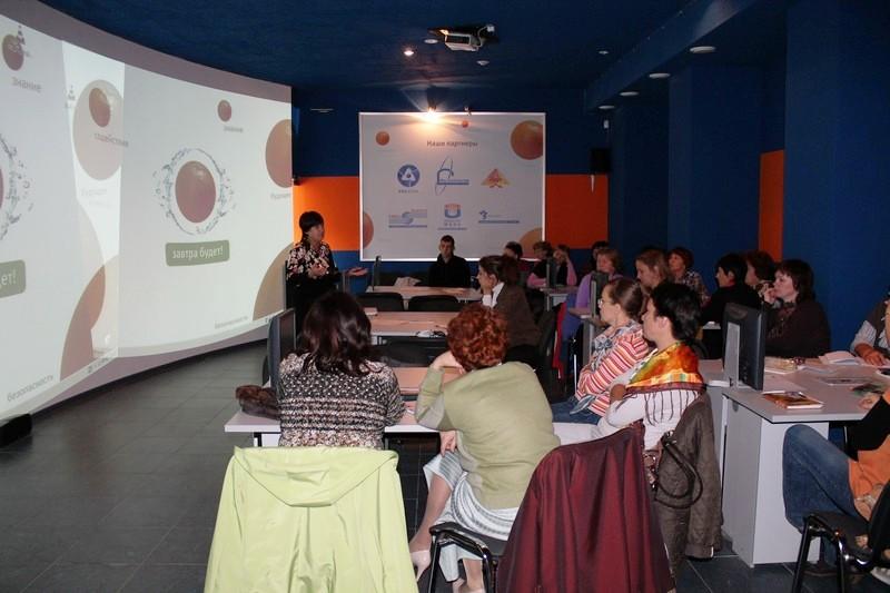 Фото к Всероссийская видеоконференция по поддержке талантливых детей прошла в информцентре по атомной энергии Челябинска