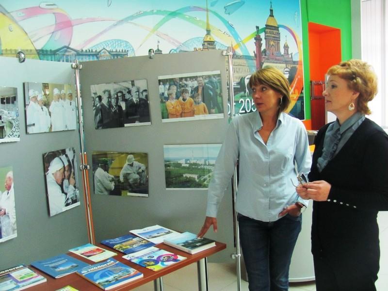 Фото к Информцентр по атомной энергии Санкт-Петербурга содействует созданию интерактивного образовательного комплекса  в Вологде