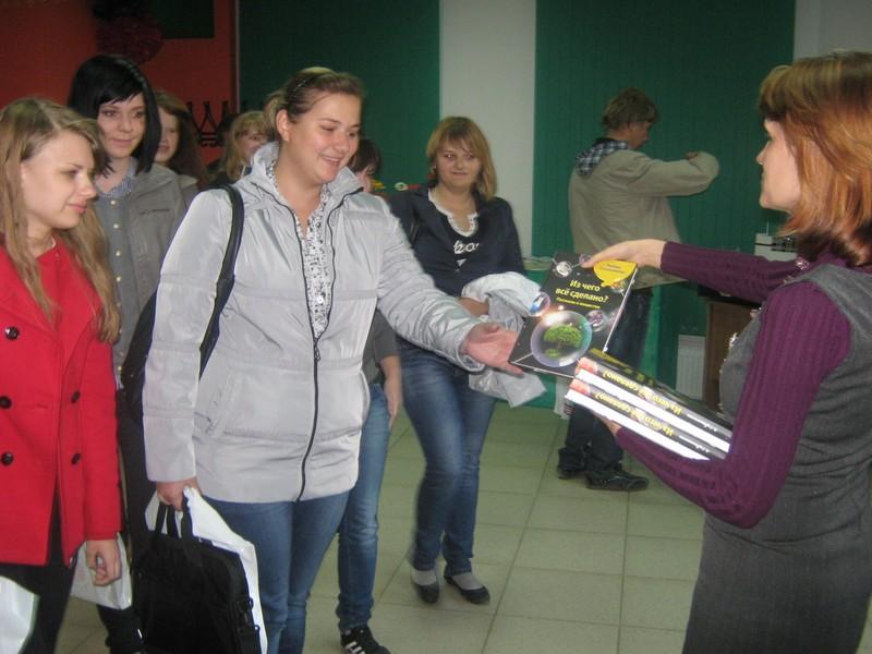 Фото к Воронежские студенты-физики прошли посвящение в профессию информцентре по атомной энергии