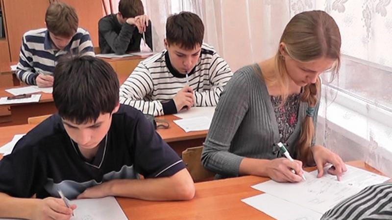 Фото к Калининградские школьники приняли участие в отборочном туре олимпиады «Росатома»