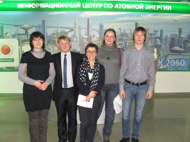 Фото к Известный журналист и блогер Татьяна Пичугина провела мастер-класс по научной журналистике в информационном центре по атомной энергии Томска