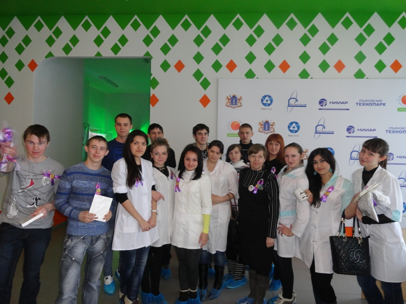 Фото к Губернатор Ульяновской области поблагодарил информационный центр по атомной энергии за проведение Фестиваля науки