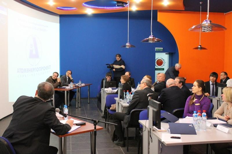 Фото к Представители СпбАЭП провели конференцию с участием партнеров из четырех стран в информационном центре по атомной энергии Санкт-Петербурга