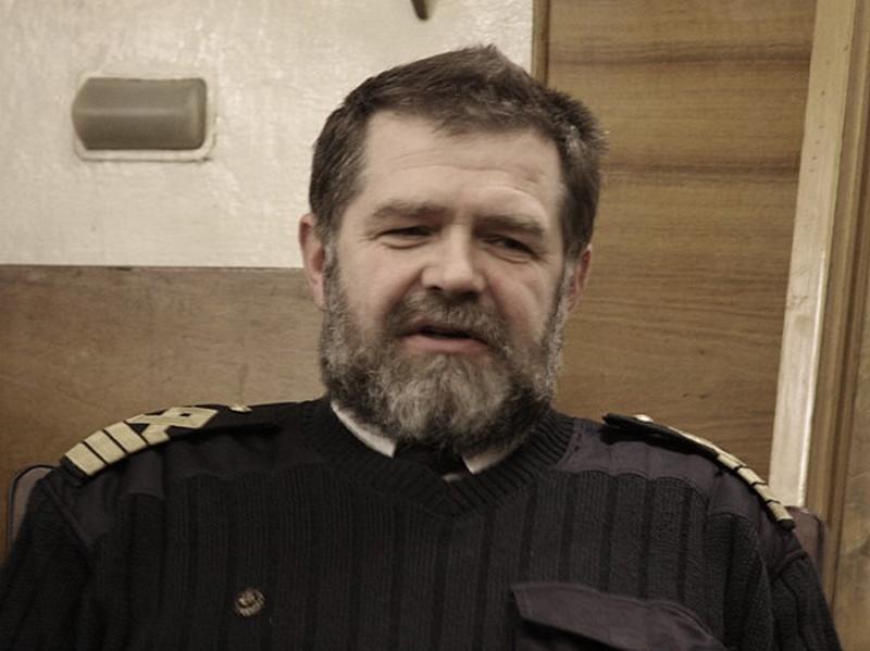 Фото к Капитан легендарного атомного ледокола «Ленин» открыл  студентам речного училища чары Арктики