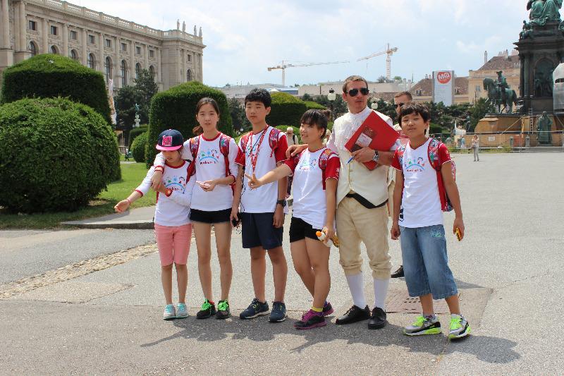 Фото к Город проверен: «NucKids» посетили Вену