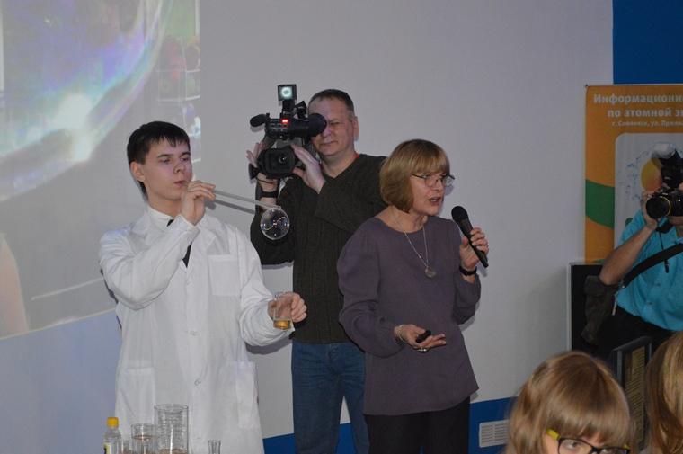 Фото к «Энергия науки» в Смоленске: «эффект бабочки», смерть Наполеона и «Жизнь в бутылке»