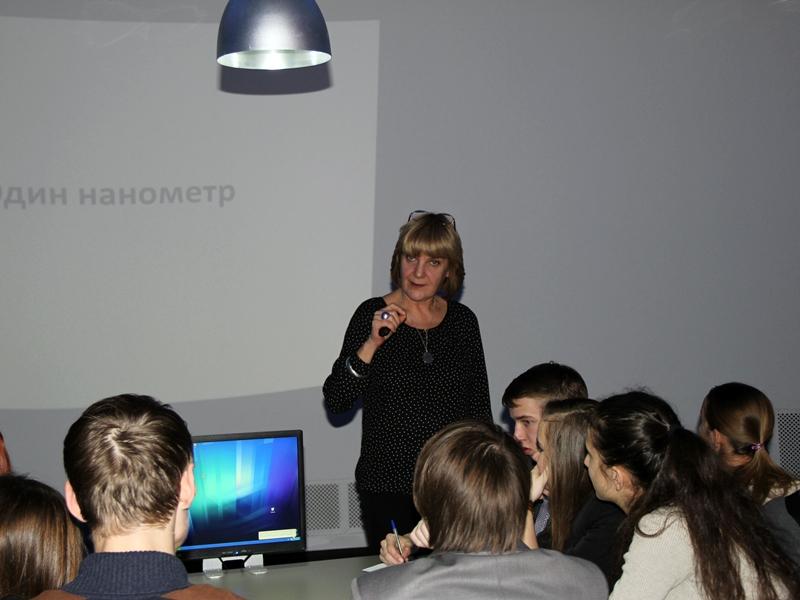 Фото к Уроки химии в интерактивной форме: проект «Энергия науки» с участием Любови Стрельниковой прошел в Ульяновске