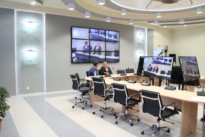 Фото к В Красноярке открылся конференц-зал общественно-информационного центра Госкорпорации «Росатом»