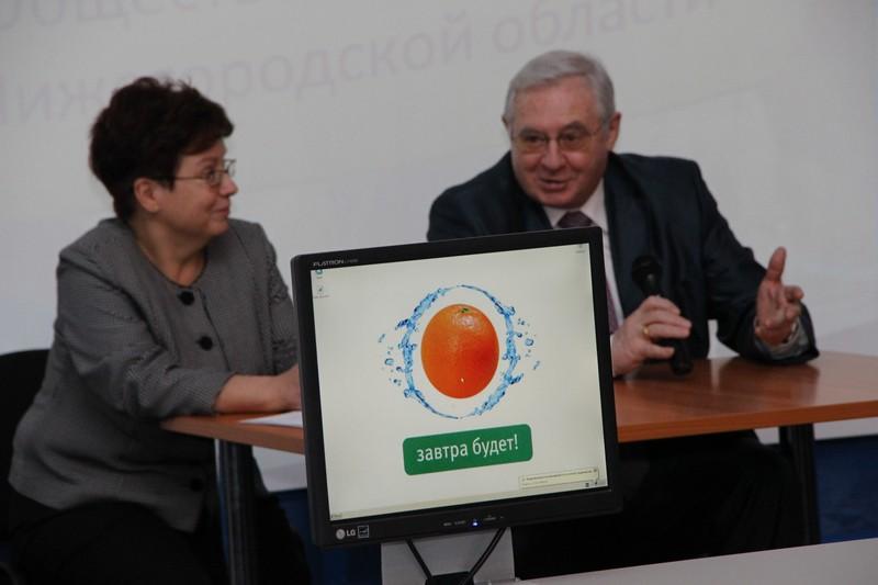 Фото к Вице-президент Российского союза ректоров Роман Стронгин посетил информационный центр по атомной энергии Нижнего Новгорода
