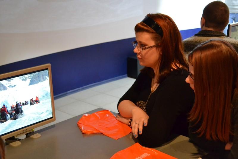 Фото к Воронежские школьники увидели Арктику глазами очевидца в информационном центре по атомной энергии