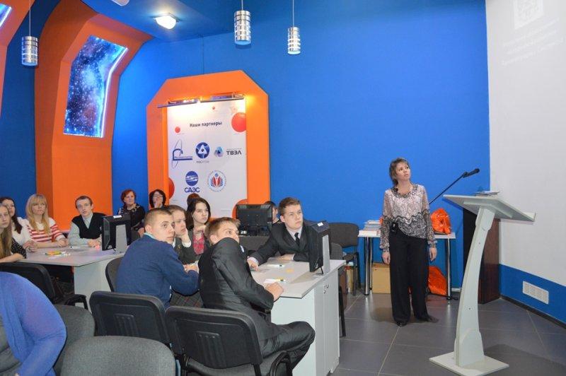 Фото к В смоленском информационном центре по атомной энергии определили лучших «инфознаек» региона