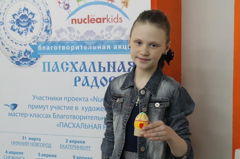 Фото к Участники проекта «NucKids» приняли участие в благотворительной акции «Пасхальная радость» в Санкт-Петербурге