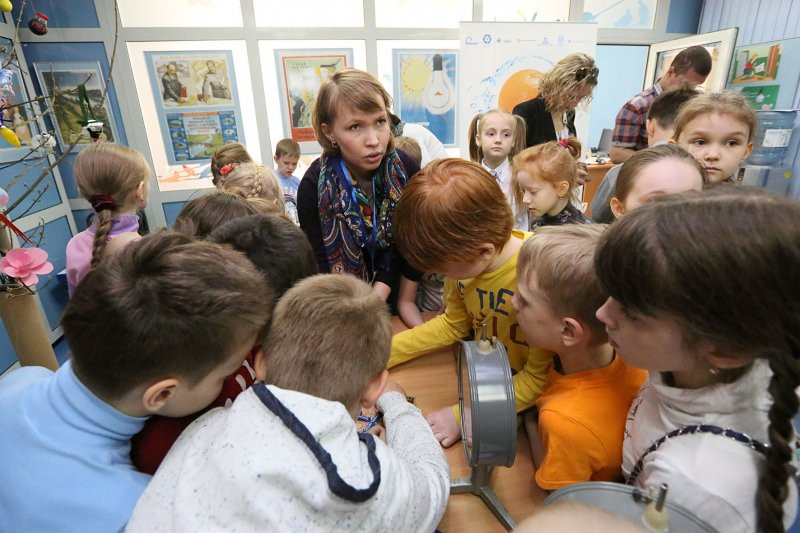 Фото к Более 300 человек стали участниками программы екатеринбургского информационного центра по атомной энергии в Ночь музеев