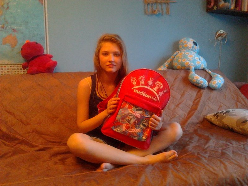 Фото к Тяжелобольная девочка получила дорогостоящий виброжилет от Фонда «АиФ. Доброе сердце» и Госкорпорации «Росатом»