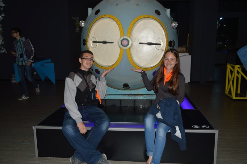 Фото к Россия делает сама: дети атомграда Десногорска оценили обновленную экспозицию Политехнического музея