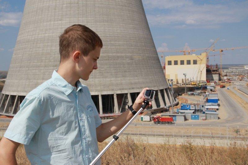 Фото к Финалист всероссийского конкурса на лучший интернет-проект среди школьников посетил Воронежскую область для съемок собственного фильма