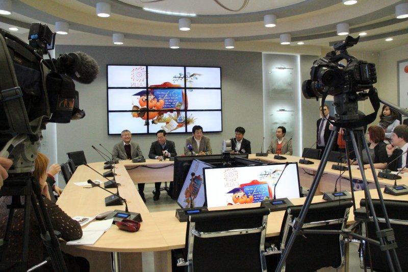 Фото к Представители Агентства атомной энергии Японии встретились с журналистами в ИЦАЭ Красноярска