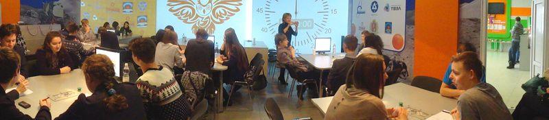 Фото к Всероссийский интеллектуальный чемпионат для школьников «Формула интеллекта» объединил более 300 команд из 36 городов России