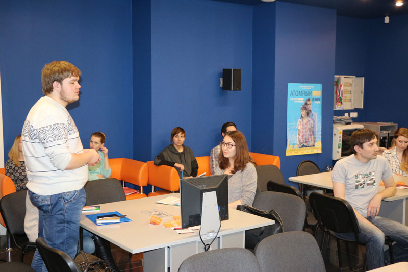 Фото к Мастер-класс Кристины Ефременко: в ИЦАЭ Томска узнали, как найти единомышленников