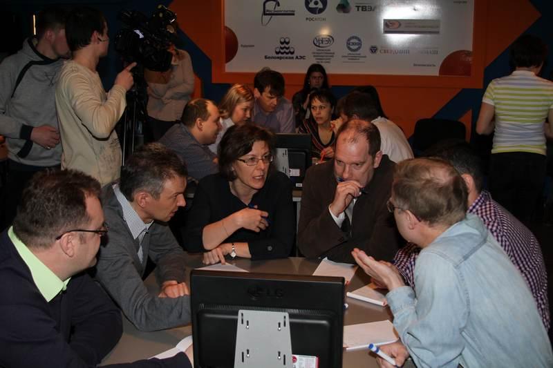 Фото к В ИЦАЭ Екатеринбурга стартовал интеллектуальный турнир, посвященный 70-летию атомной отрасли