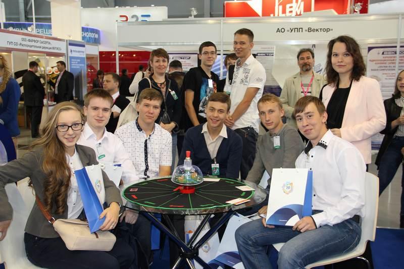 Фото к ИЦАЭ на международной арене: в Екатеринбурге прошла выставка ИННОПРОМ-2015