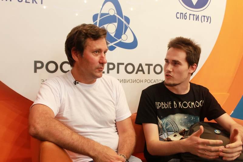 Фото к Космологические дискуссии: в Санкт-Петербурге прошла лекция Георгия Гончарова
