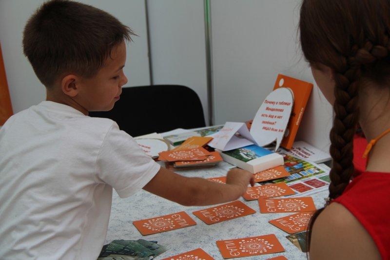 Фото к Развлекая, увлекать: ИЦАЭ Красноярска принял участие в сибирском образовательном форуме