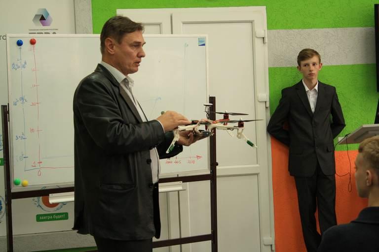 Фото к На стыке наук: в Калининграде прошла лекция о технологиях будущего