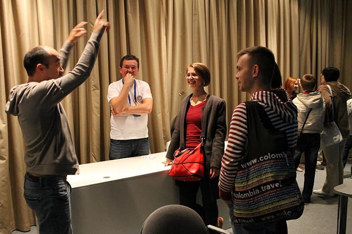 Фото к Цепная реакция успеха: ИЦАЭ Новосибирска встречал гостей выставки «Росатома» в Манеже