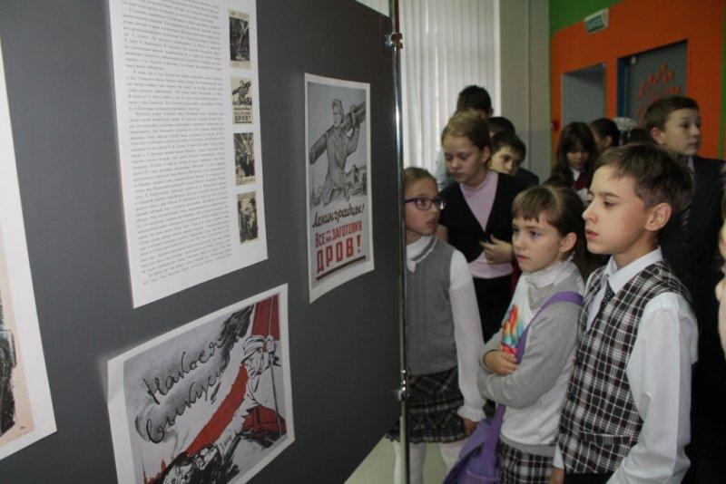 Фото к Вспоминая подвиг: в ИЦАЭ СПб открылась выставка блокадных открыток