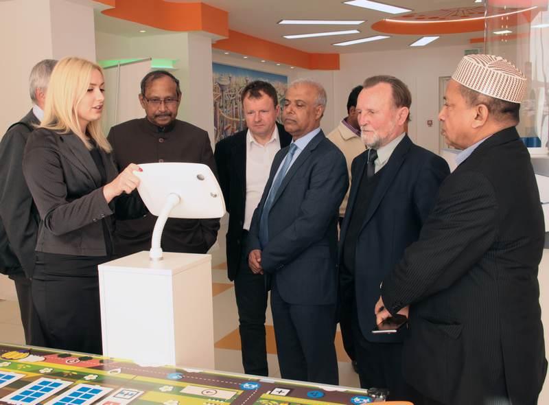 Фото к ИЦАЭ Минска посетил министр науки и технологий республики Бангладеш