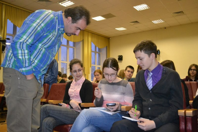 Фото к «Энергия науки» в Екатеринбурге: лекции, мастер-класс и научное ток-шоу вместе с Алексеем Паевским