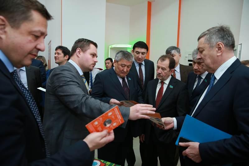Фото к В Астане состоялось открытие информационного центра по атомной энергии