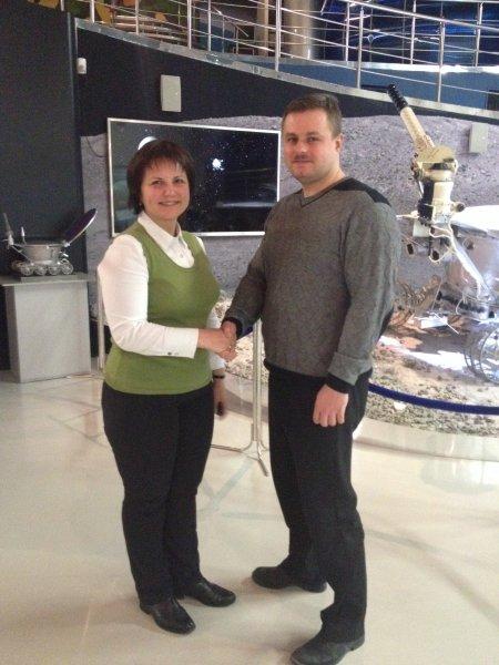 Фото к Информационные центры по атомной энергии начинают  сотрудничество с Музеем космонавтики