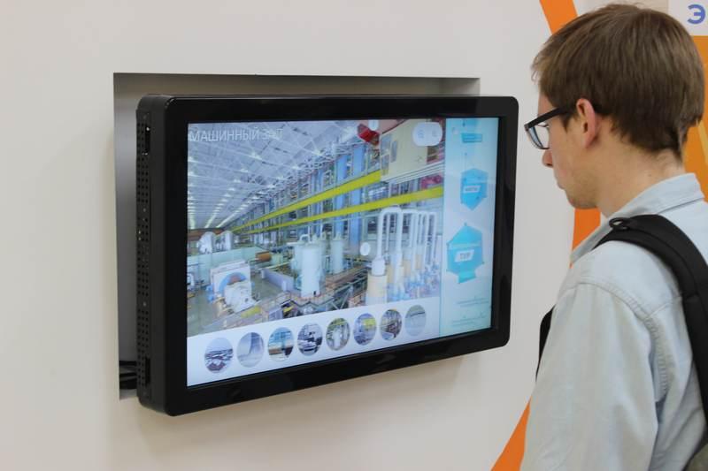 Фото к Участники смены «Свежие идеи! Яркие проекты!» побывали на АЭС будущего