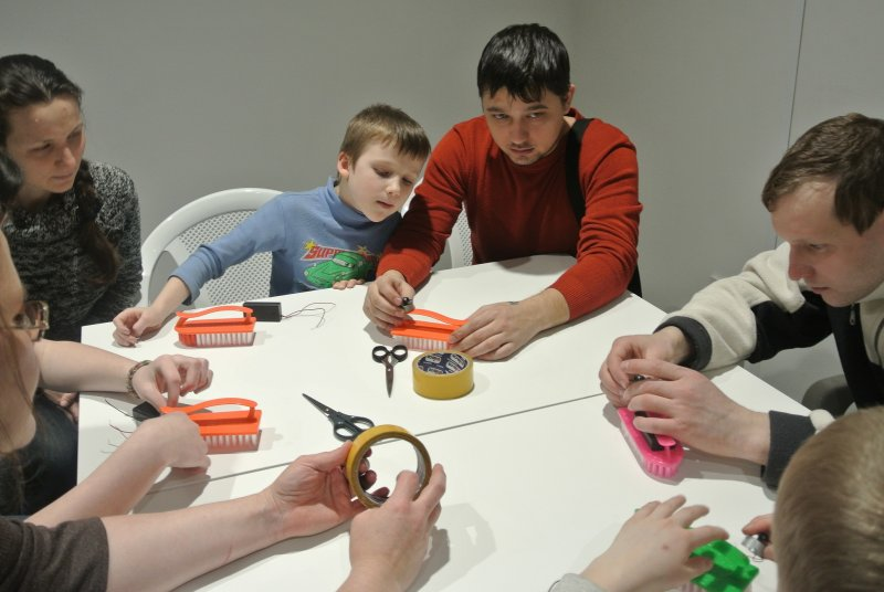 Фото к «ТехноНочь» в Екатеринбурге — для  влюбленных и любителей технического творчества