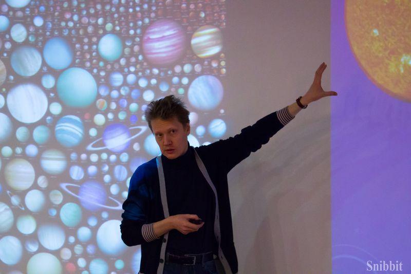 Фото к Астрофизик Сергей Попов рассказал владимирцам об алгоритме поиска экзопланет